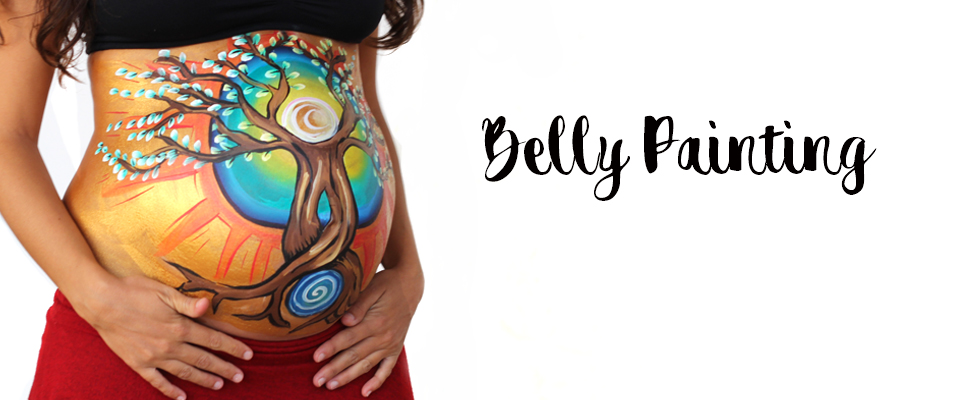 belly-painting